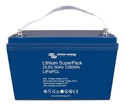 Batería de Litio Victron Energy SuperPack 25,6V 50Ah 1280Wh