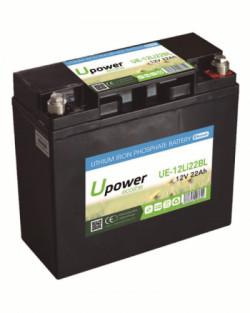 Batería Litio 12V 22Ah Upower Ecoline