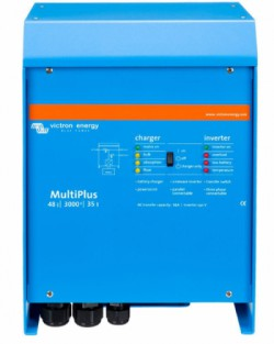 Inversor Cargador Victron Energía solar 48V 3000W 35+16A